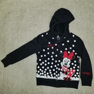 Disney Parks Minnie Mouse girl's sweater, size S
